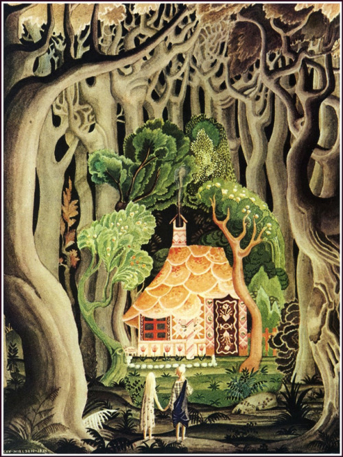 Hansel and Gretel / the Brothers Grimm, 1925 (via Golden Age Illustrator: Kay Nielsen - 50 Watts)