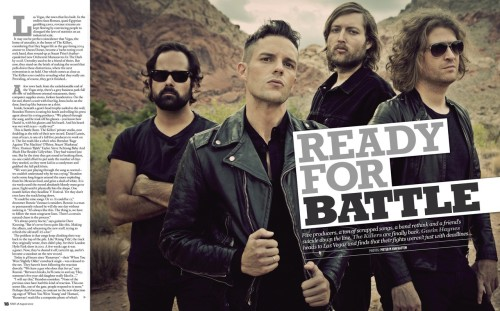 The Killers in this week's NME. Part 1 (via TKC)