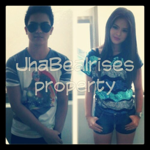Happy 13k followers on twitter, JhaBea Irises! :) *talagang dapat same nsa bulsa ang kamay?* #JhakeVargas #JakeVargas @beabinene #JaBea #JhaBea #PPBigtime  (Taken with Instagram)