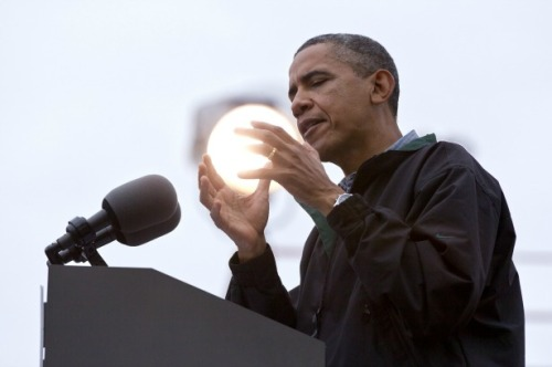 theatlantic:  Picture of the Day: Barack Obama—Politician or Conjurer? [Image: AP]