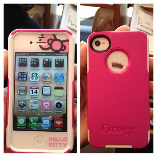 lgmom110715:  Cutest iPhone ever!! (Taken with Instagram)