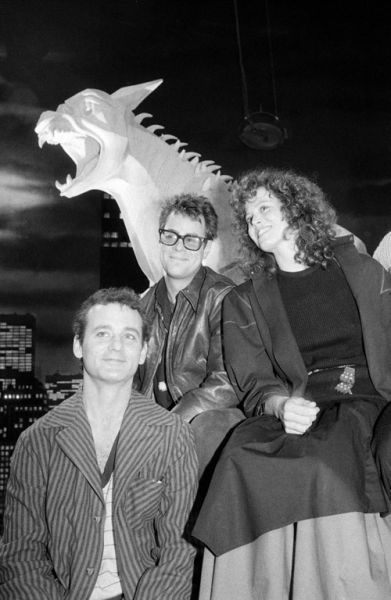 Bill Murray, Dan Aykroyd and Sigourney Weaver