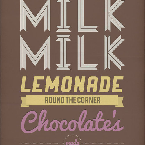 """Milk, Milk, Lemonade…."" by Stephen Wildish print, poster, or card"