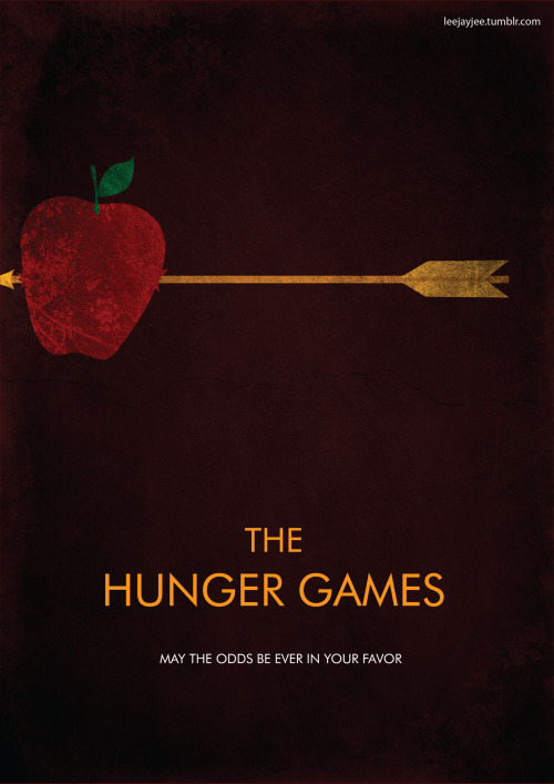 minimalmovieposters:  The Hunger Games by Leah Jacobs-Gordon