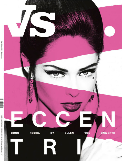 VS Mag - By Ellen Von UnwerthSeptember, 2012I'm so happy with this new cover, shot by one of my favorite people Ellen Von Unwerth. I can't wait to show you all the very unusual editorial that accompanies this. Ellen and I always have fun! Go HERE to see the last time we got together…