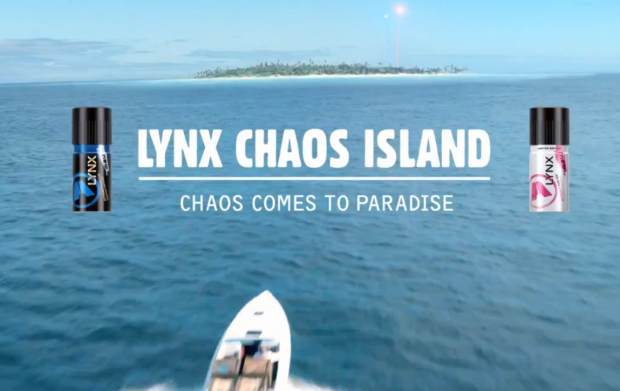ENTER: Lynx launch competition to grab a place on the exclusive 'Chaos Island'