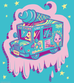schoolofvisualarts:  I Scream Truck by Nate Bear