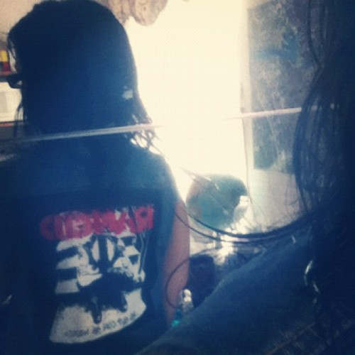 Addition to my jean vest. #rancid #clothes #whatiwore #whatiworetoday  (Taken with Instagram)
