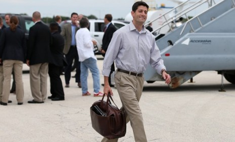 theweekmagazine:  So dedicated is Rep. Paul Ryan to his body-sculpting workout program, P90X, that he leads a daily class for about a dozen fellow Congressional staffers. A guide to Paul Ryan's brutal workout regime  … Your tax dollars at work: he's only sponsored 2 bills that passed in his entire 13-year career but uses how many work-hours each day to lead this class?