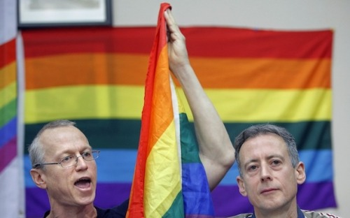 theatlantic:  What the Gun Control Movement Can Learn From Gay Rights  While gun control and gay rights are very different things, there are a couple of key directives that apply to both: Play political hardball, put your money where your mouth is and reframe the debate to deprive the opposition of fuel.    Read more. [Image: AP Photo/Alexander Zemlianichenko]