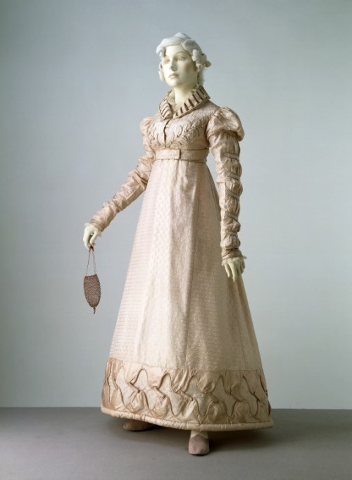 omgthatdress:  Spencer Ensemble 1823 The Victoria & Albert Museum