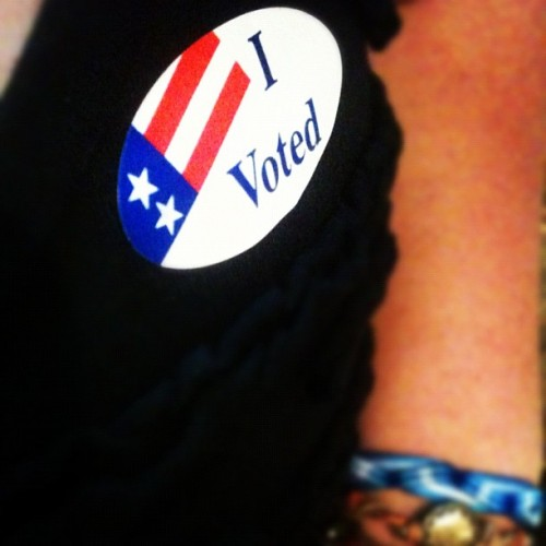 Thank you to all my sisters before me who made this possible. Go #vote!! 🇺🇸 #suffragettes #voting #rights #democraticsystem #america  (Taken with Instagram)