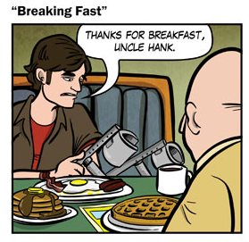 "New comic: ""Breaking Fast"""