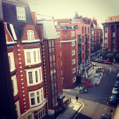 View from our window. Hello #Harrods ! (Taken with Instagram)