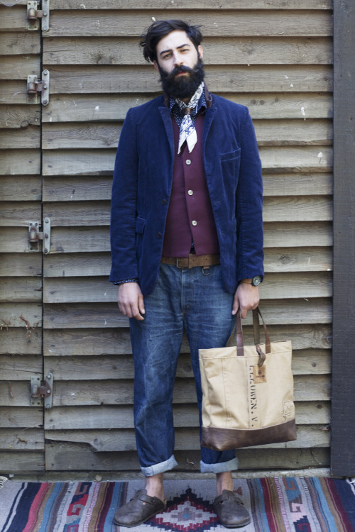 workingmans-blues:  Atelier de l'Armée lookbook Fall 2012 - sneak preview!  Keep visiting atelierdelarmee.com for the complete lookbook.