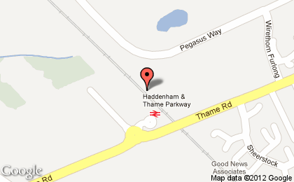 MacPsych just visited [Haddenham and Thame Parkway Railway Station (HDM)]  .