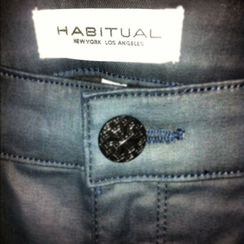 New #Habitual in for women for the fall!!!  (Taken with Instagram at denim bar)