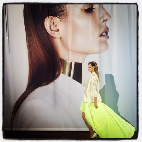 Lindsey Wixon at Designers Remix at Copenhagen Fashion Week (Taken with Instagram)