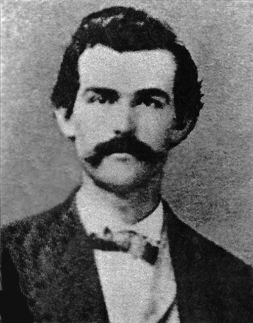 "oldfilmsflicker:  Happy Birthday John Henry ""Doc"" Holliday (August 14, 1851 – November 8, 1887)"