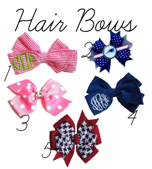 preppyscientist:  Prep Essential: Bows over on the blog