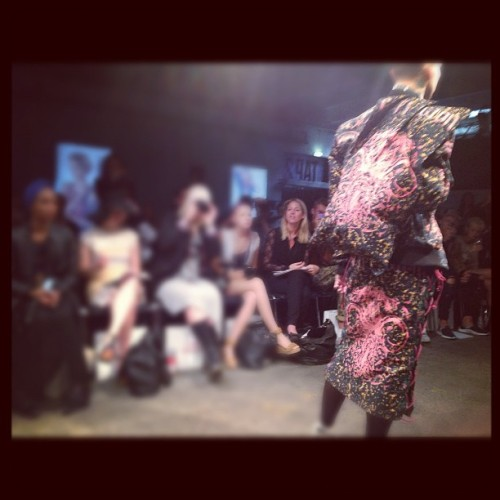 The amazing Asger Juel Larsen best show of Cph Fashion Week (Taken with Instagram)