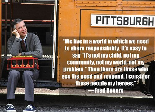 Mr. Rogers was a good man…