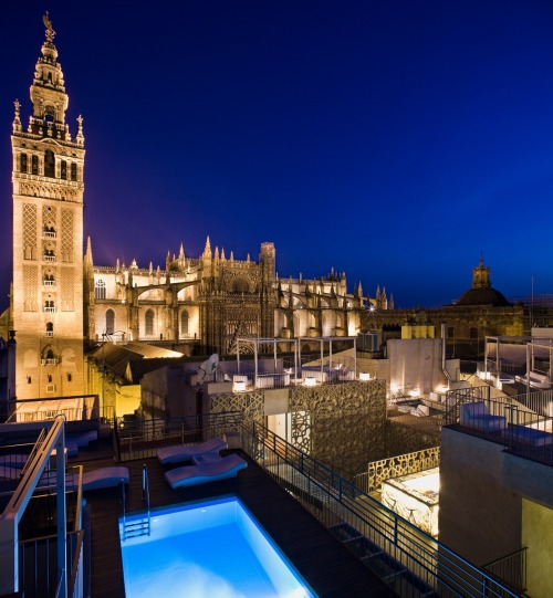 What a stunning setting in Seville… EME Catedral Hotel