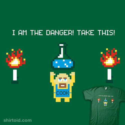 ptitben:  The Legend of Walter available at RedBubble #BreakingBad #Zelda