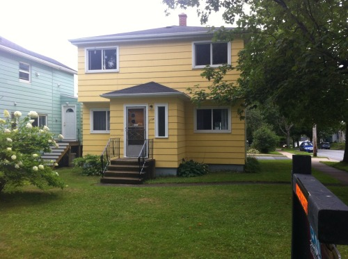 JUST LISTED - 2794 Connolly Street in West End Halifax. A beautiful set of up and down flats for $449,900. Great opportunity for owner occupied with rental income or for an income property. Located on a large corner lot at the corner of Connolly and Almon, the rents are currently lower than the rental market dictates. Book now for your private viewing! Visit: http://www.modernapproach.ca 902.880.1490
