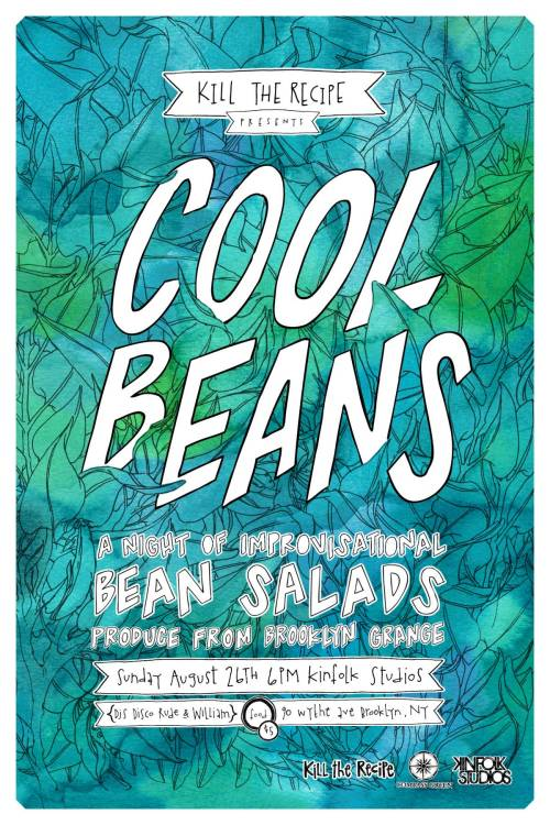 cool beans @kinfolkstudios with compass green august 26th. details here. illos @lucyengelman