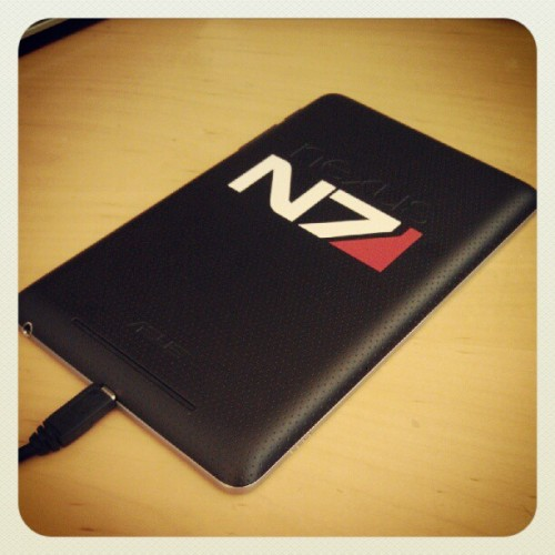 That's more like it! #N7 #Nexus7  (Taken with Instagram at CBS Interactive)