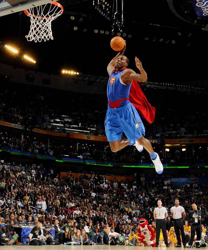 NBA Dunk Competition Flashback: Remember when Dwight Howard was the like-able Superman Dwight Howard? Pre-Dwightmare.