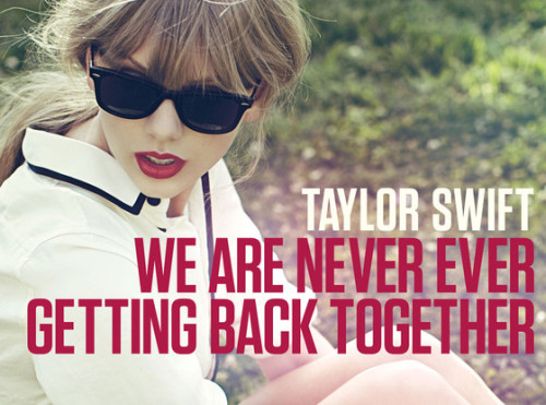 Does everyone else already have Taylor Swift's new song on repeat too?! Listen to the break up anthem here!