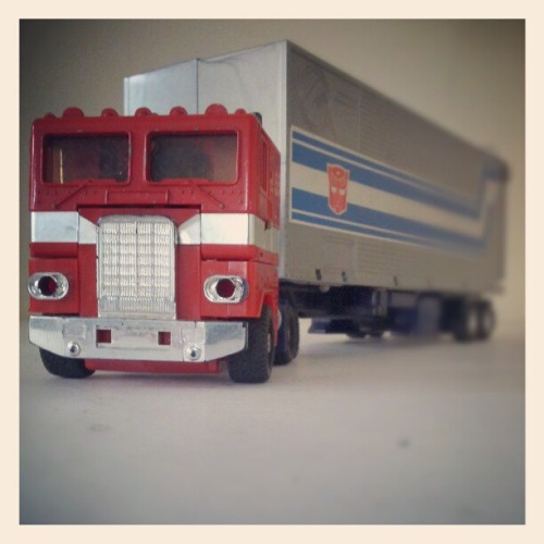 Autobots… roll out! (Taken with Instagram)