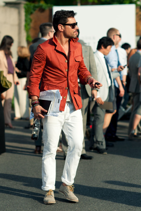 Try a pair of white pants facebook.com/GentlemanF