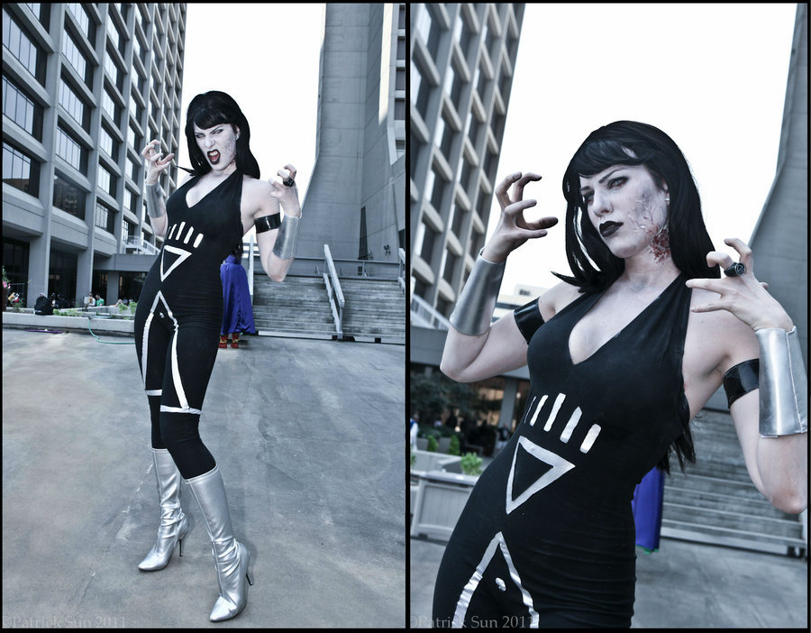 "Gillian (aka gillykins)  /  ""Infectious (Donna Troy Black Lantern Cosplay)"""