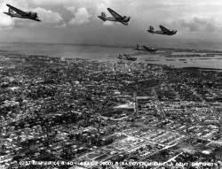 Bombers over Miami, 1940.