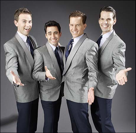 Original Broadway cast of Jersey Boys