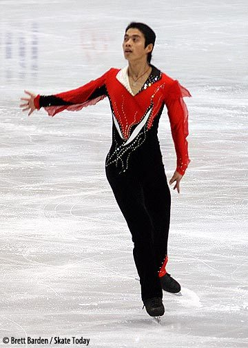Ming Xu's short program costume at the 2007 World Championships.
