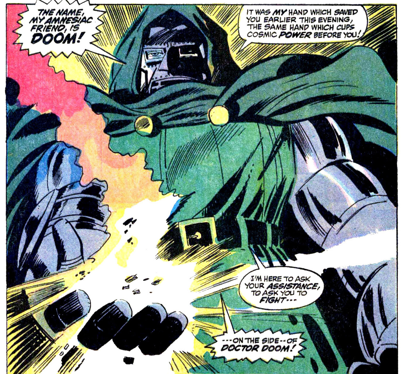 Fight on the side of Doctor Doom!