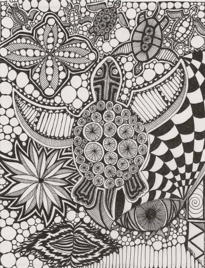 "fuckyeahpsychedelics:  ""Doodle For My Daughter"" by Gotezz"