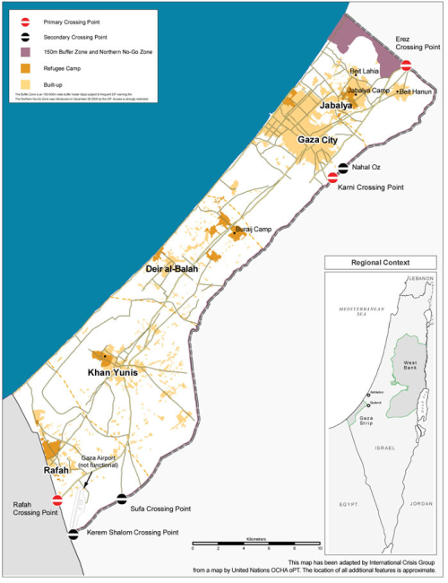 """Gaza enjoys a strategic depth, and Hamas a political one, that both lacked not long ago. Relations have improved with a vast array of countries, and more progress is expected."" -Crisis Group's new report, Light at the End of their Tunnels? Hamas & the Arab Uprisings"