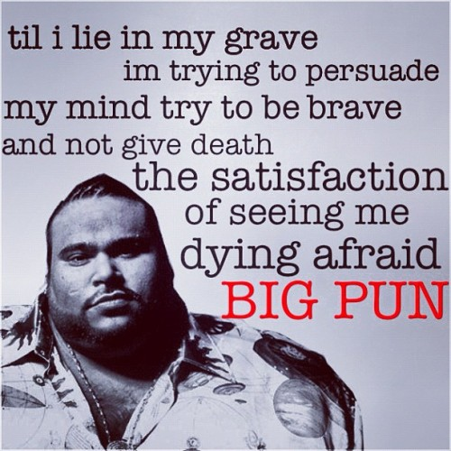 #watchagondo #bigpun #100% #forever #track4 #endangeredspecies (Taken with Instagram)