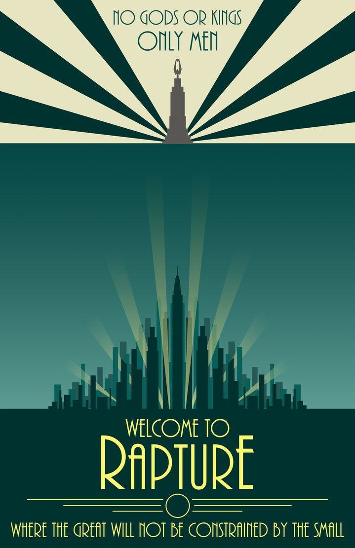 gamefreaksnz:  http://open-circle.deviantart.com  The Bioshock series is one of my favorite game series of all time, after the third game i will be pretty bummed unless it ends in a way that i feel is good enough for the series.