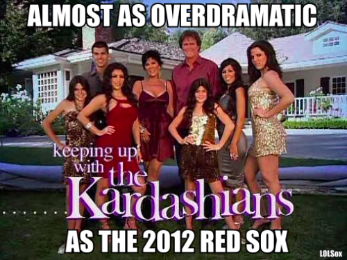 HOW THE KARDASHIANS STACK UP AGAINST THE 2012 RED SOX