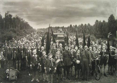 A truly frightening photo from World War II. Props to OP. http://imgur.com/gallery/Ms2S2