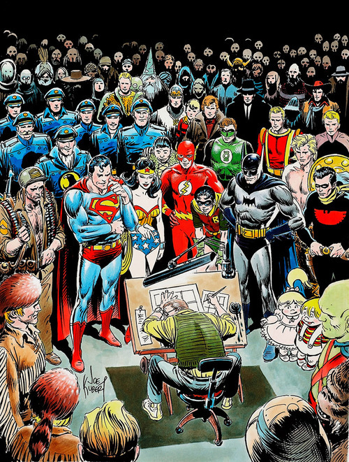 imaginaryparnassus:  Descanza en paz Joe Kubert