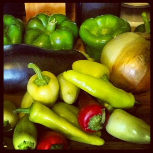 Farmers market haul. #local #organic  (Taken with Instagram)
