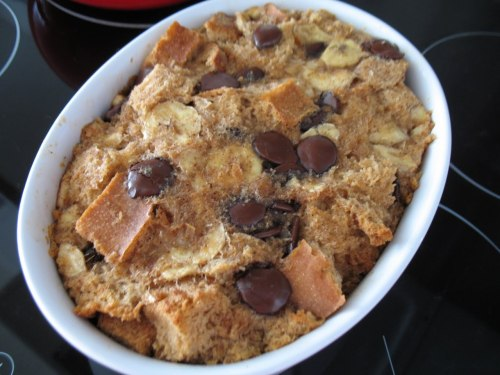(via Chocolate Banana Bread Pudding  | GirlieGirl Army)