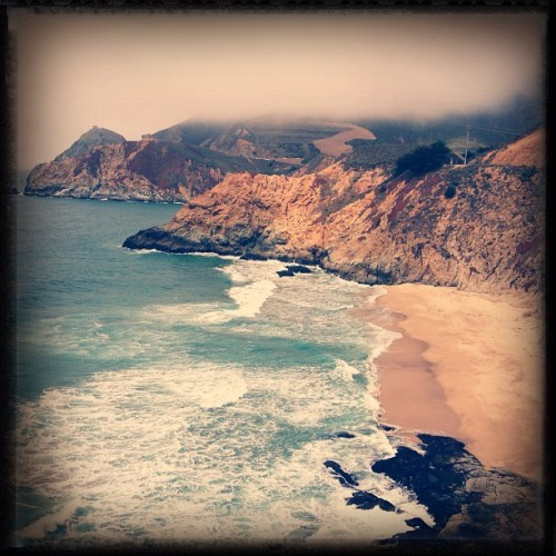 Dear mother earth, you rule.  (Taken with Instagram at Gray Whale Cove State Beach)